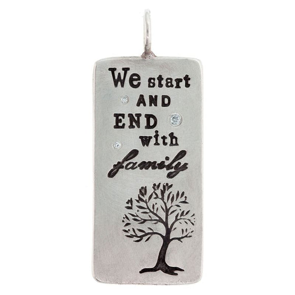 Family Quote ID Tag