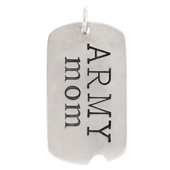 Military Mom Dog Tag