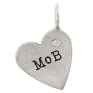 Mother Of The Bride Heart Charm