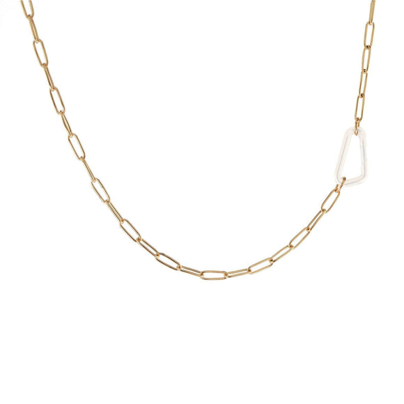2.9mm Gold Link Chain - No Hinge