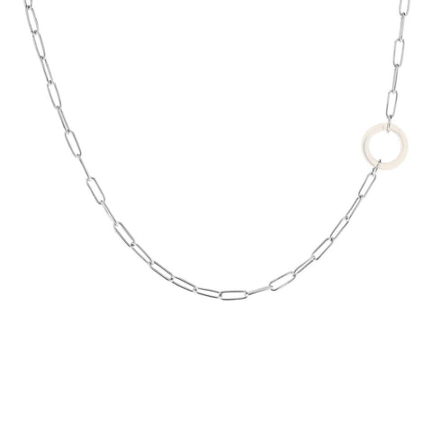 2.9mm Silver Link Chain - No Hinge - Heather B. Moore