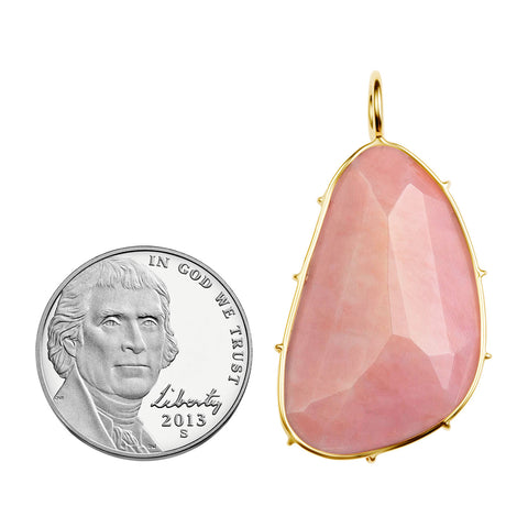Large Pink Opal Harriet Stone