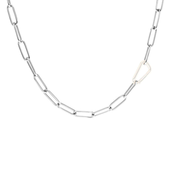 5.2mm Silver Link Chain - No Hinge