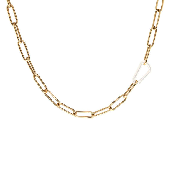 5.2mm Gold Link Chain - No Hinge - Heather B. Moore