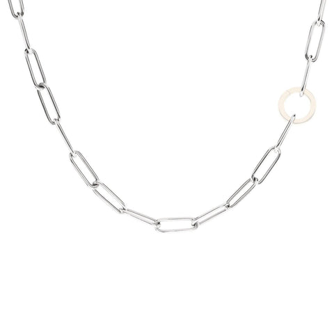 5.2mm Silver Link Chain - No Hinge - Heather B. Moore