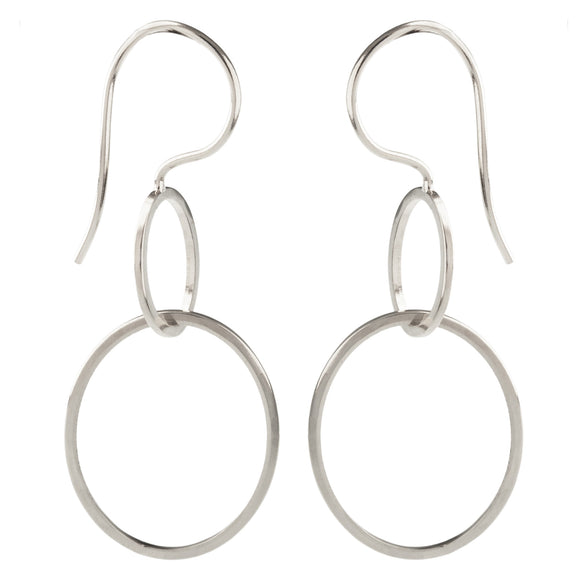 Two Linked Earrings