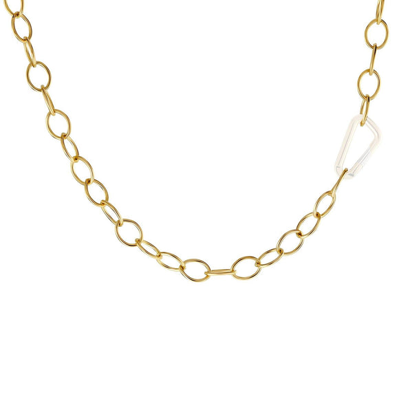6.3mm Gold Chain - No Hinge