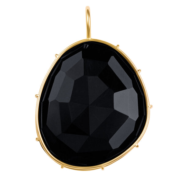 Large Black Spinel Harriet Stone