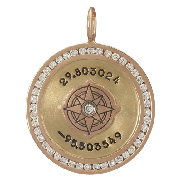Coordinates Channel Set Round Charm