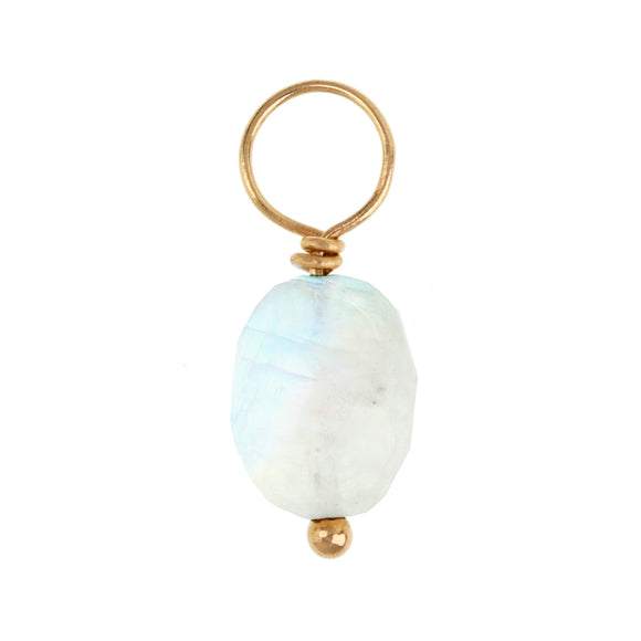 Moonstone Faceted OvalGemstone