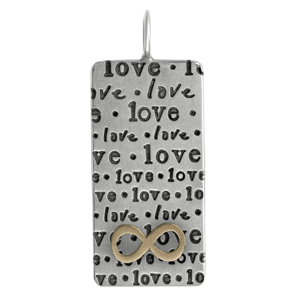 Love Repeat ID Tag