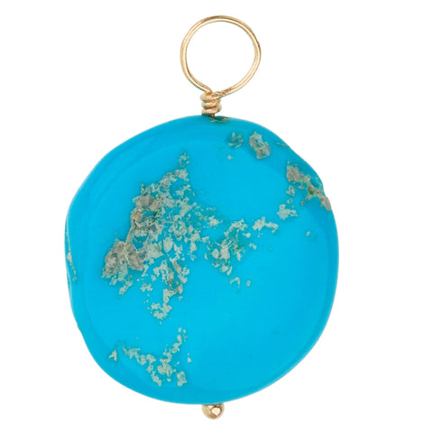 Sleeping Beauty Turquoise Unfaceted Chunk Gemstone