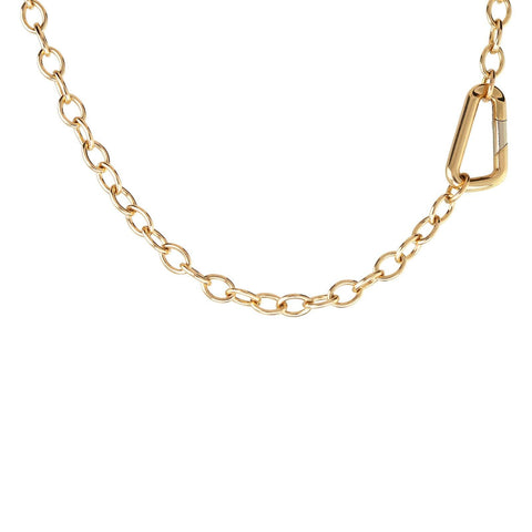 4.8mm Carabiner Chain - Heather B. Moore