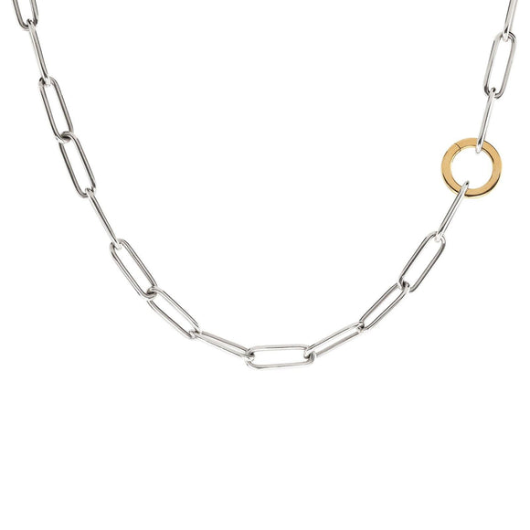 5.2mm Silver Link Round Clip Chain - Heather B. Moore