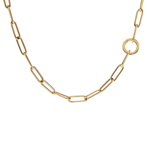 5.2mm Gold Link Round Clip Chain - Heather B. Moore