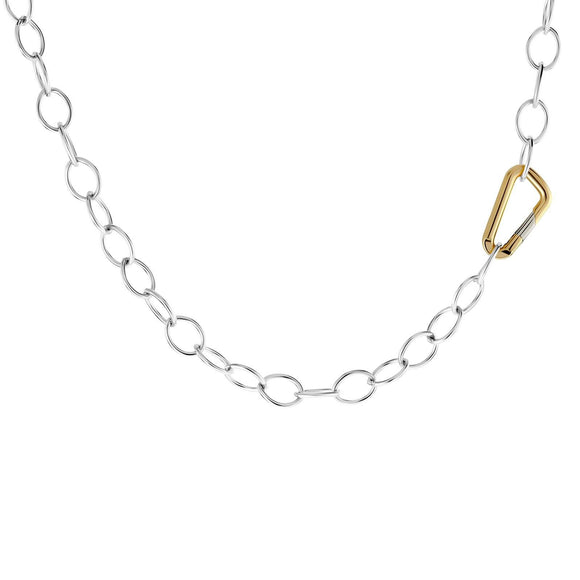 6.3mm Silver Carabiner Chain - Heather B. Moore