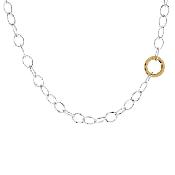6.3mm Silver Round Clip Chain - Heather B. Moore