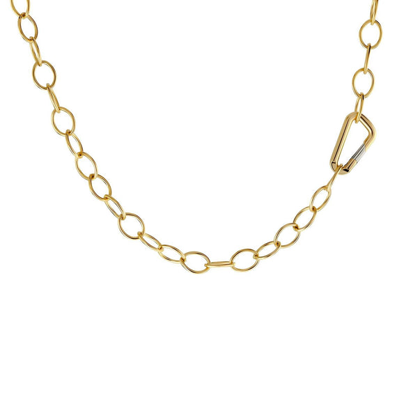6.3mm Gold Carabiner Chain