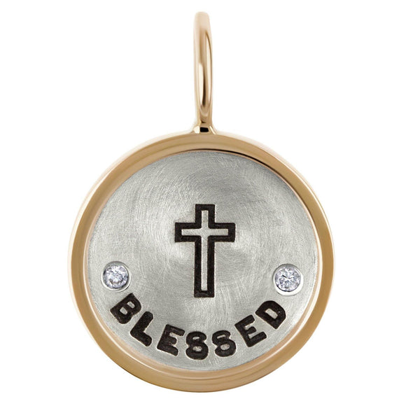 Blessed Round Charm - Heather B. Moore