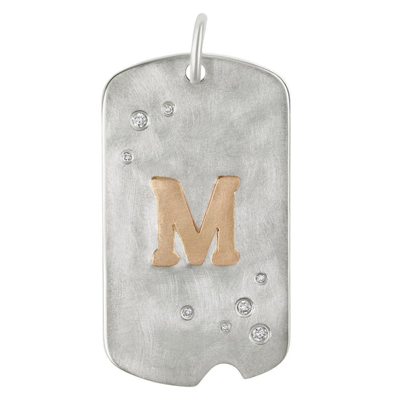 Initial Dog Tag - Heather B. Moore