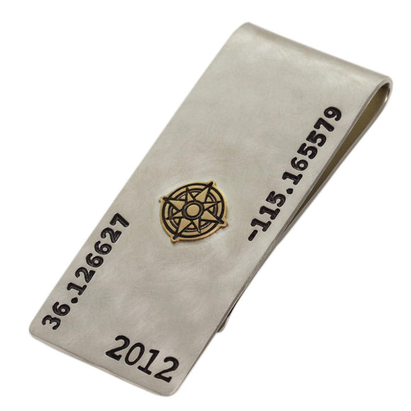 Coordinates Money Clip - Heather B. Moore