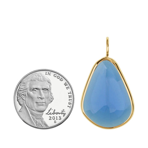 London Blue Topaz Elizabeth Stone