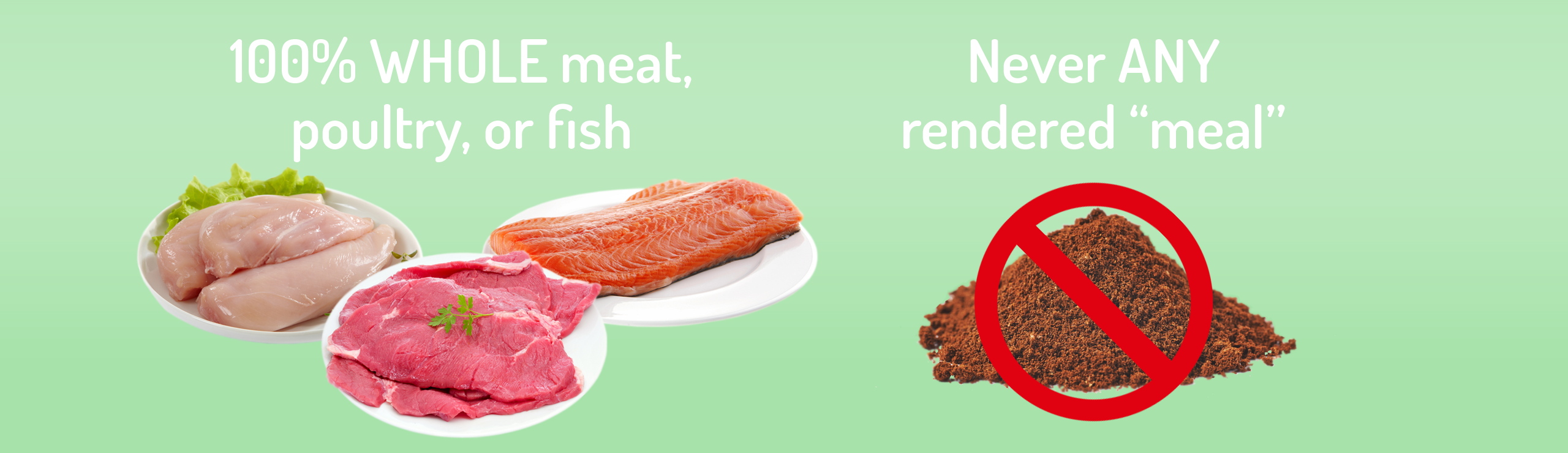 "WHOLE Meat vs. ""Meat Meal"""