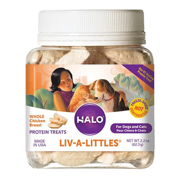 Liv-A-Littles® Freeze-Dried Chicken Breast Protein Treats