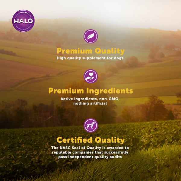 Halo Sensitive Stomach Supplement for Dogs