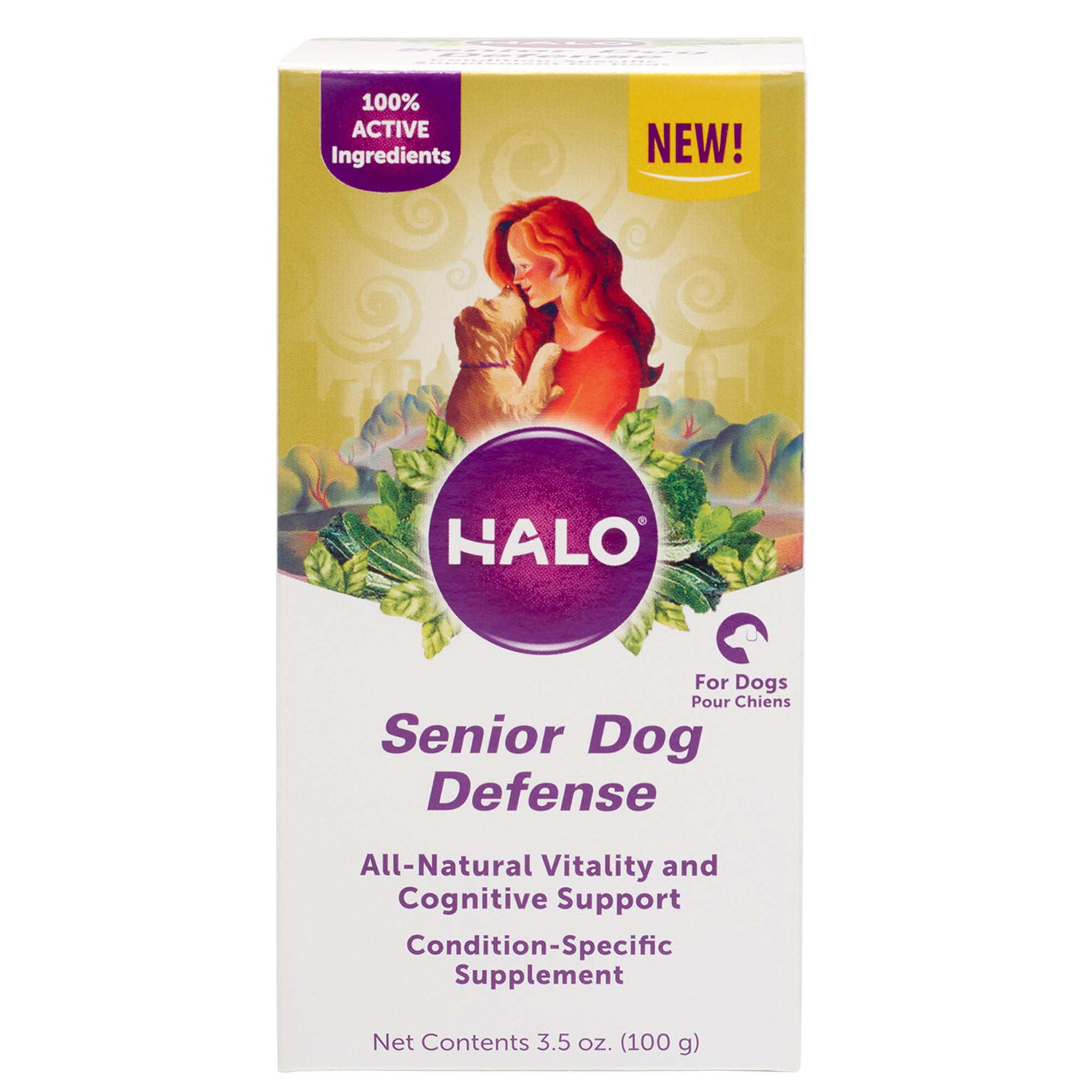 Halo Senior Dog Defense Supplement