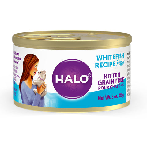 Halo Kitten - Grain Free Whitefish Recipe Pâté