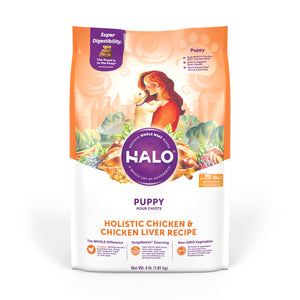 Halo Puppy Holistic Chicken & Chicken Liver Recipe