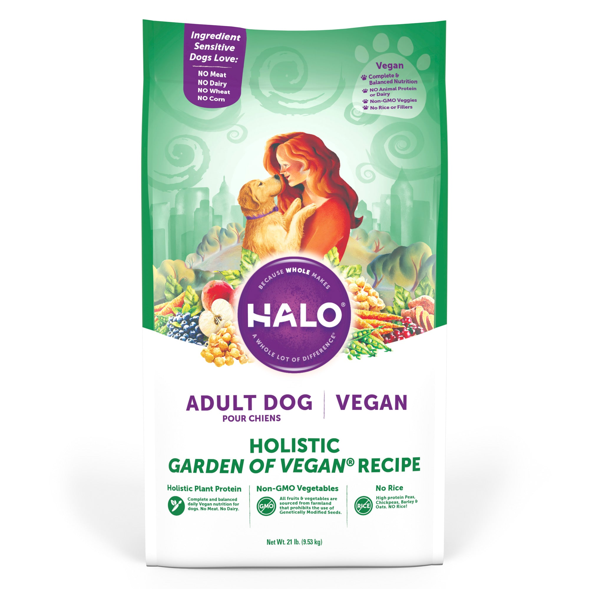 Halo Adult Dog - Holistic Garden of Vegan Recipe