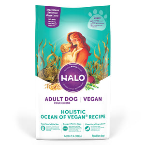 Halo Adult Dog - Holistic Ocean of Vegan Recipe