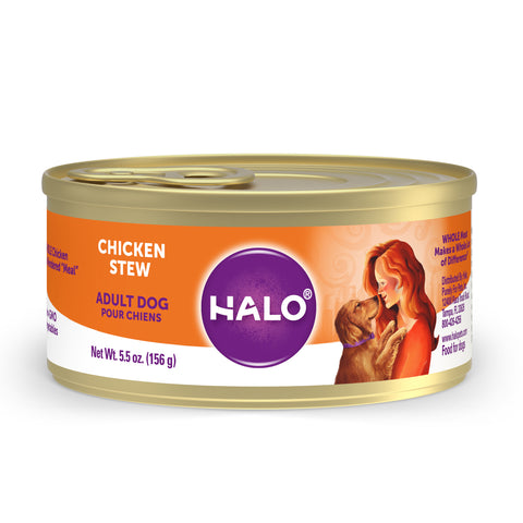 Halo Adult Dog - Chicken Stew
