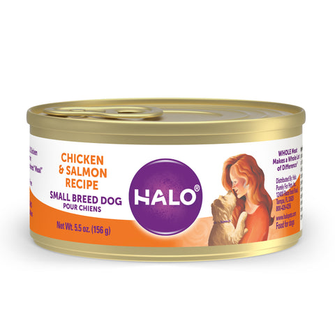 Halo Small Breed - Grain Free Chicken & Salmon Recipe