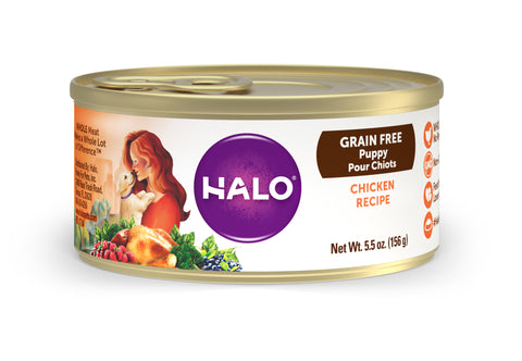 Halo Puppy - Grain Free Chicken Recipe