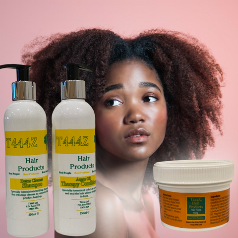 Developed from natural plant extracts, T444Z is a very effective hair product. It is a cocktail of different extracts that have been proven to deal with different hair problems. Hair loss, hair line damage, thinning hair, brittle and dry hair, itchy scalp, dry scalp and dandruff problems are some common problems experienced. These need not bother you anymore as T444Z will stop them within two months. Continued use will ensure healthy hair that grows strong and without having to use any other product.  Not only is it useful to people with hair problems, it is the only product proven to enhance the growth of hair for both women and men.  T444Z has been developed by a hairdresser and not in a laboratory. Years of tests and experimentation with different plant extracts has taught us that most products work on one hair problem and in the end one has to buy different products at the same time. T444Z has made this a thing of the past by combining different extracts known for their qualities in giving good, healthy and long hair that everyone desires.