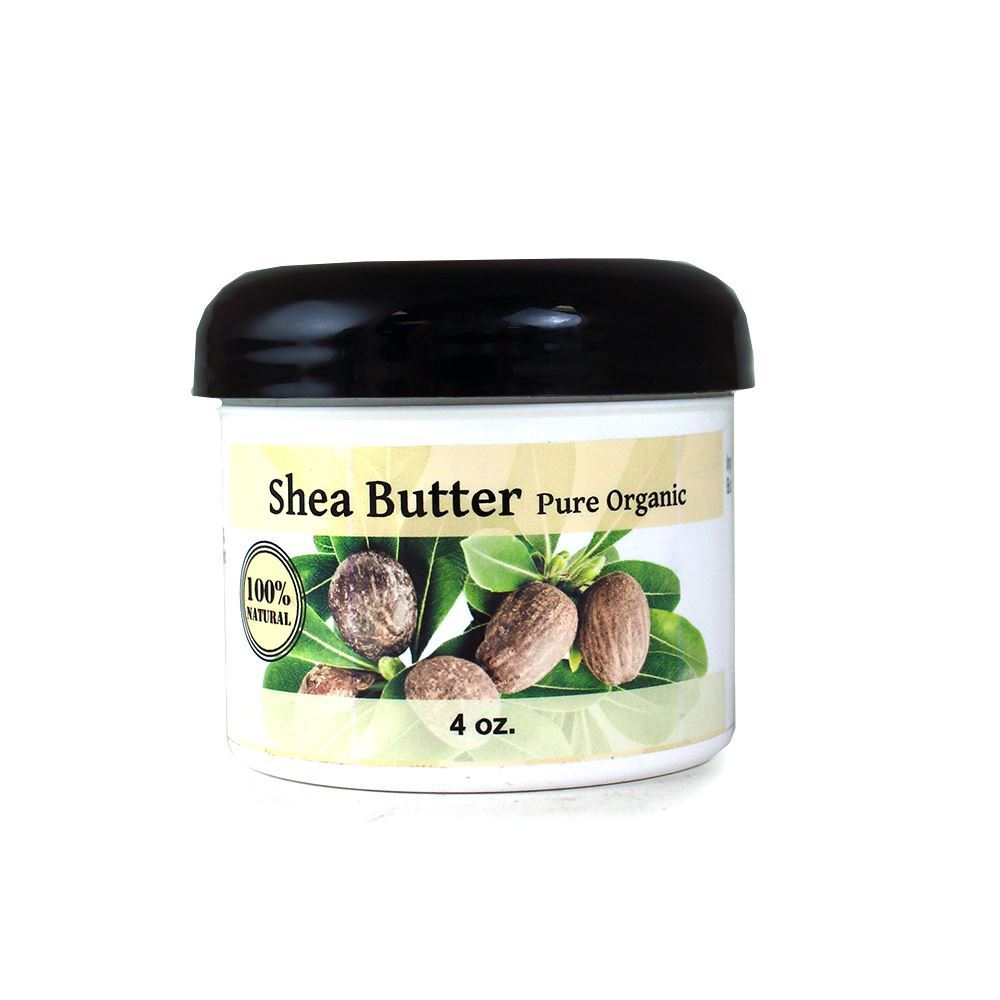 100% Pure Organic Unrefined Shea Butter- 113 grams (4oz) in jar Buy online Australia