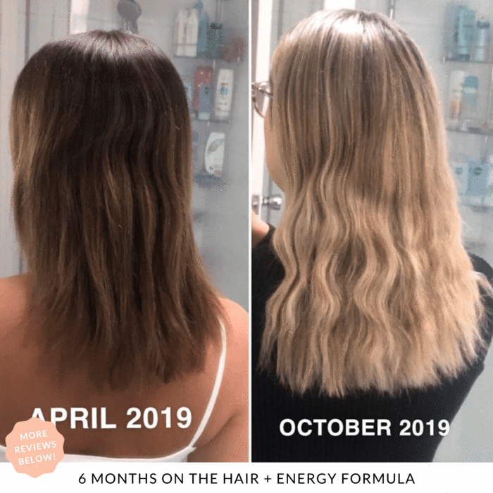 Results 6 months on JS Health Hair + Energy