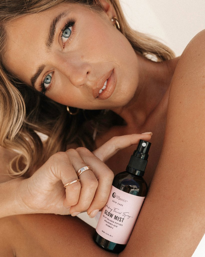 MORE INFO:  Multiple clinical studies have demonstrated that Nutra Organics unique Sol-C® micro collagen peptides significantly improves hydration, barrier function and increase collagen synthesis. The powerhouse peptides get to work by both absorbing into the epidermis and forming a protective barrier on the skin's surface, creating a plumper and smoother complexion.  Over 75% of our skin is made up of collagen, which begins to degenerate in our mid-twenties and can be accelerated by other lifestyle and en