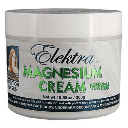 Elektra Magnesium Cream- Herbal- 300g (10.58oz) jar