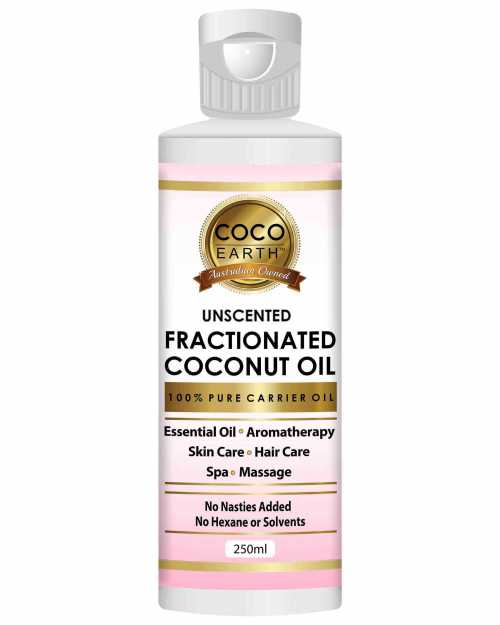 •	CocoEarth brings you the 100% pure Fractionated Coconut Oil. •	Prepared from Organically grown coconuts | No nasties or chemical added at all •	Works as an excellent carrier oil or base oil for essential oils or other products •	Add it to your Bath & Beauty Products •	Apply fractionated coconut oil as a body and face moisturizer •	Very Good for Hair Care, Add it to your hair care regimen or products  •	Get healthier looking and feeling skin by using it with your cosmetics and lotions  •	Use it as a massa