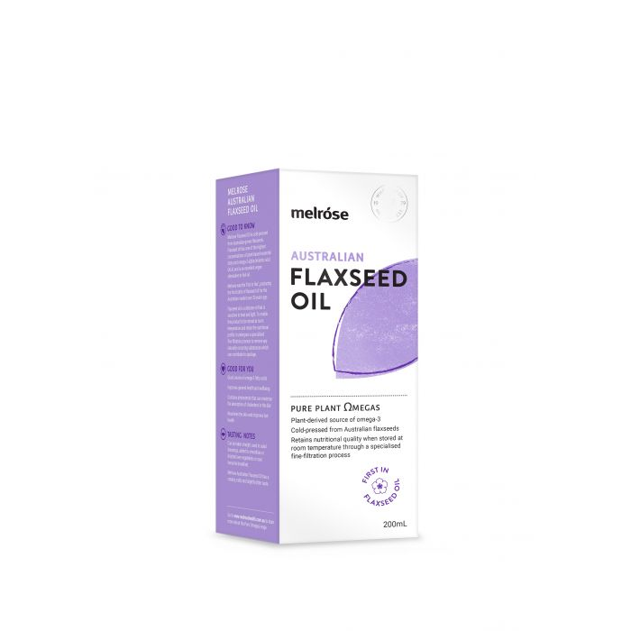 Melrose Australian Flaxseed Oil 500ml Buy online northern beaches Sydney. Free shipping over $60.00