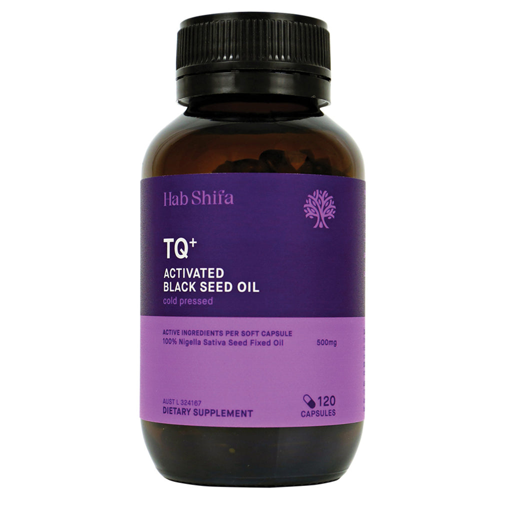 Hab Shifa TQ+ Activated Black Seed Oil 60 capsules Buy online Sydney Australia