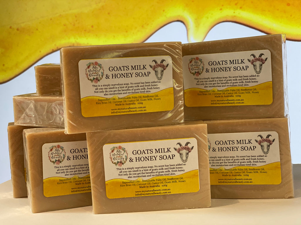 Made with pure fresh goats milk. Goats milk contains lots of nutrients like fats, proteins and other hormones that naturally benefit the skin. The benefits of goats milk can be felt by people suffering from various skin conditions or those just wanting to maintain youthful, rejuvenated skin.