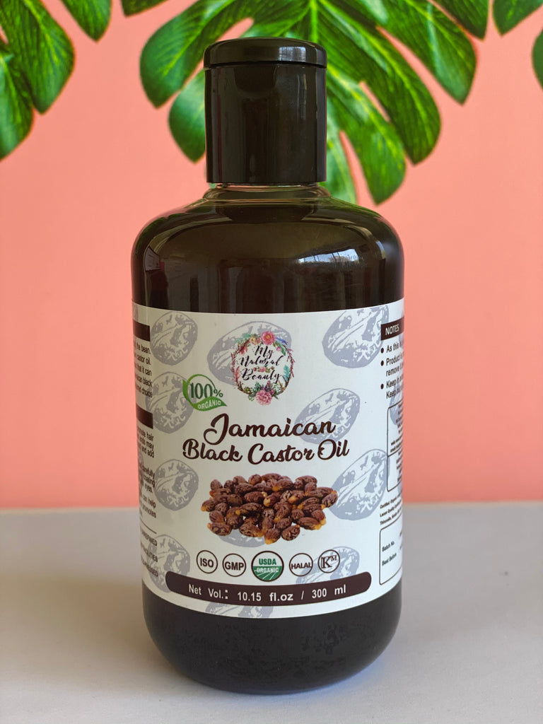 My Natural Beauty Organic Jamaican Black Castor Oil (300 ML)