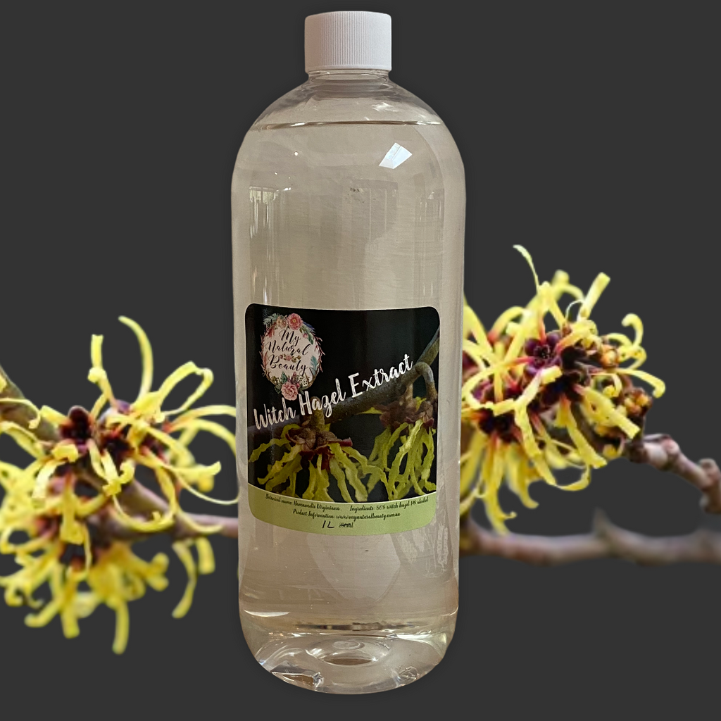 Natural remedy for Hemorrhoids. Witch Hazel extract. Buy online Sydney Australia. Northern beaches Natural beauty
