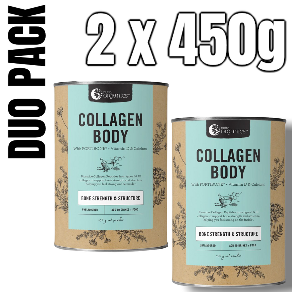If you are concerned with bone density or have recently injured yourself and fractured a bone, then Collagen Body is the one for you! If you are focusing on building strength and lean muscle mass then Collagen Build is the one for you!  Nutra Organics Collagen Beauty