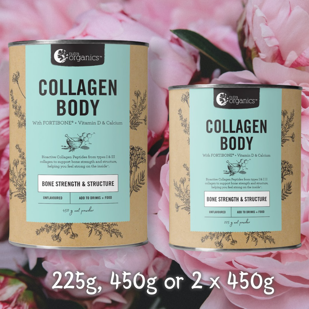 Which Collagen Product is best for me?     That depends entirely on what your goals and priorities are, as each of our collagen powders contains different bioactive collagen peptides that have different functions in the body. We have also added some specific key nutrients to each that further support and target those functions and make them even more specialised.  Collagen Beauty targets skin hair and nails, Collagen Body targets bone and Collagen Build targets muscle.